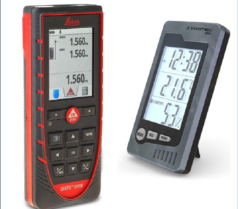 Công nghệ Bluetooth® thông minh cùng các ứng dụng giúp dữ liệu đo đạc có thể được truyền tới các thiết bị smartphone hay tablet thật đơn giản.