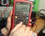 Quy trình đo dòng điện của động hồ vạn năng điện tử
