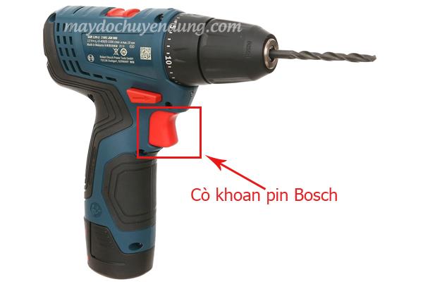 Cò máy khoan pin Bosch