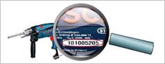 Mã số an ninh trên dụng cụ điện Bosch