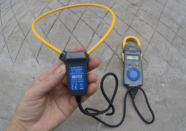 Đặc điểm nổi bật của đầu đo dòng điện dạng kìm Hioki CT6280
