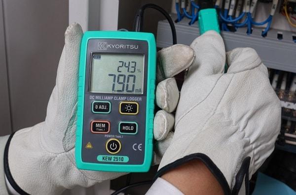 Kyoritsu KEW2510 là thiết bị lý tưởng để đo dòng điện một chiều