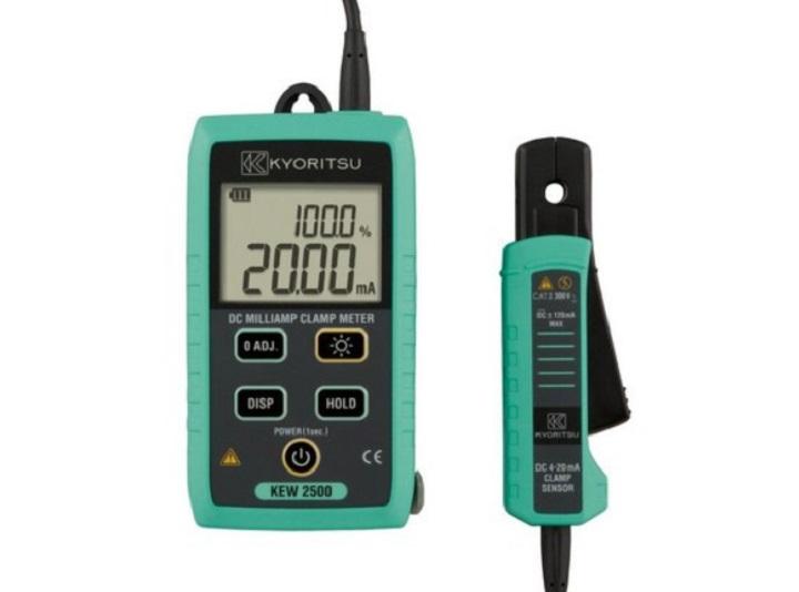 Ampe kìm đo dòng Kyoritsu 2500 thiết kế chắc chắn, đảm bảo an toàn