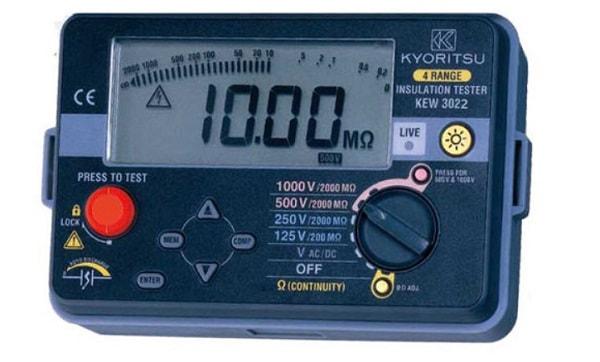 Đồng hồ đo điện trở cách điện đảm bảo an toàn, mức giá phù hợp