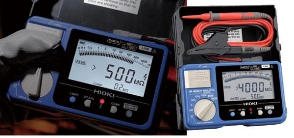 Đồng hồ đo điện trở cách điện Hioki IR4056-21 còn mang đến nhiều chức năng hữu ích