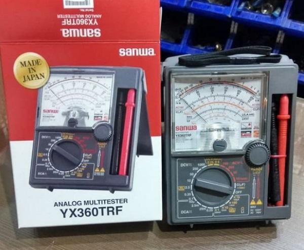 Đồng hồ đo điện vạn năng Sanwa YX-360TRF ứng dụng trong nhiều lĩnh vực