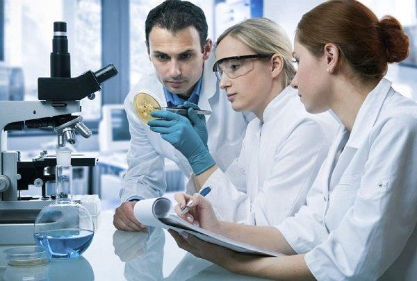 Chuẩn bị thực hiện quan sát với kính hiển vi sinh học