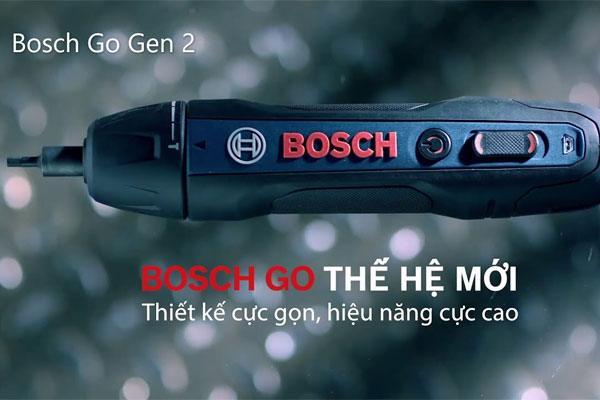 Máy vặn vít dùng pin Bosch Go Gen 2