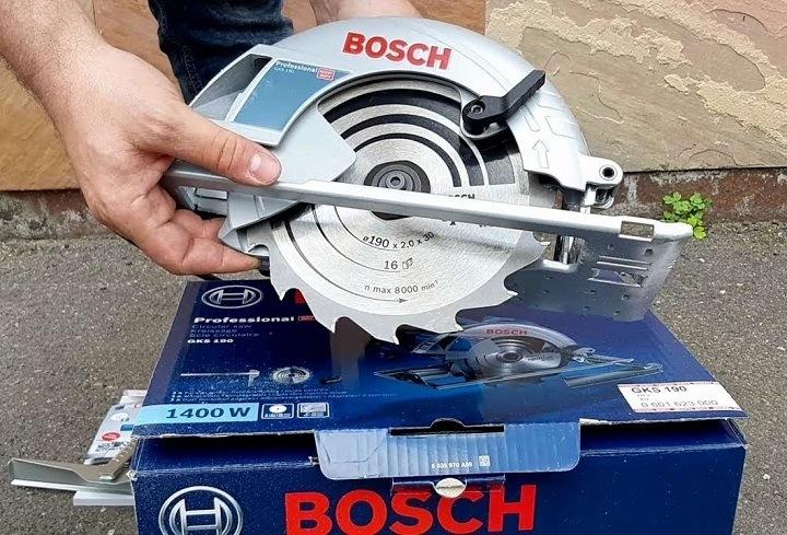 Ứng dụng đa dạng của Bosch GKS 190