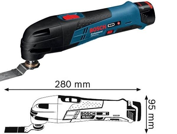 Những ưu điểm nổi bật của Bosch GOP 12V-LI