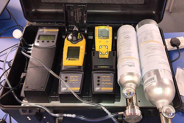 Hiệu chuẩn máy đo khí