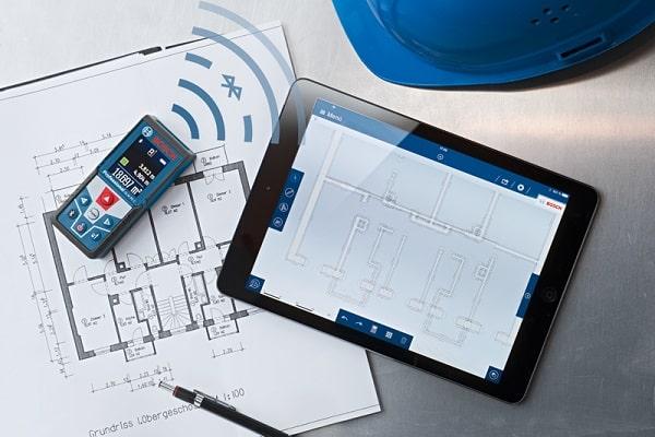 Bosch GLM 50 C giúp thực hiện dải đo lớn