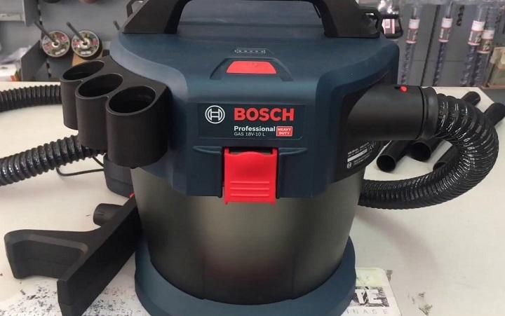 Những đặc tính nổi bật của Bosch GAS 18V-10 L