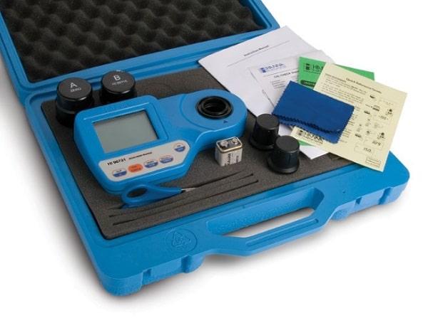 HI 96721 giúp đo nồng đồ sắt trong nước