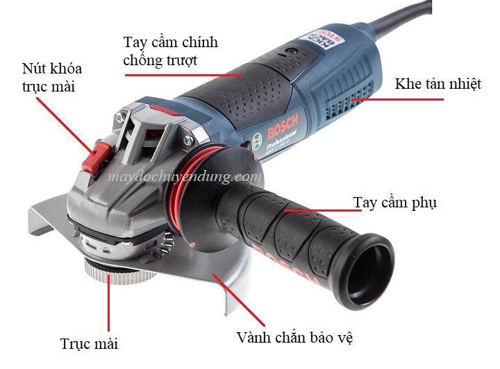Máy mài góc chính hãng Bosch GWS 17-150 CI Bosch-gws-17-150CI-1