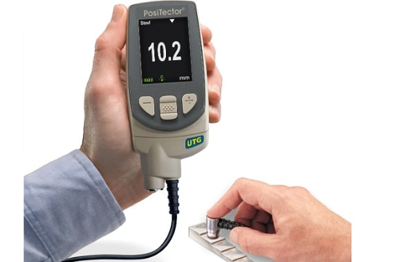 Sử dụng máy đo độ dày để xác định lớp màng sơn mà không cần khá hủy