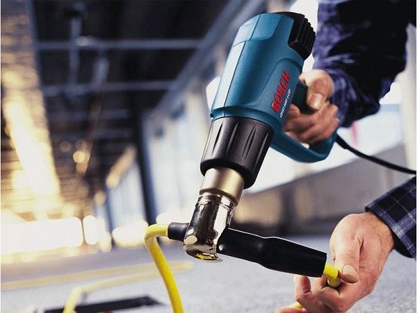 Cách dùng máy khò Bosch cho các công việc