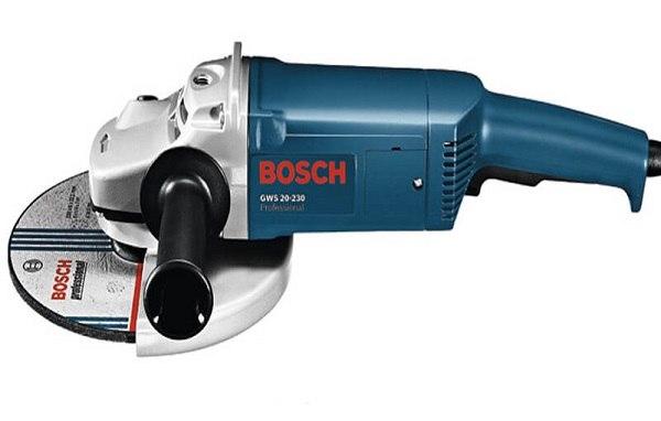 So sánh máy mài cầm tay Bosch cỡ lớn GWS 20-180 và GWS 20-230