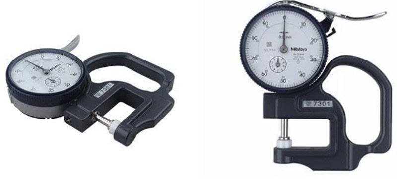 Đồng hồ đo độ dày 0-10mm Mitutoyo 7301 giúp đo chính xác đến từng mm
