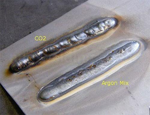 So sánh mối hàn Co2 và mối hàn Argon