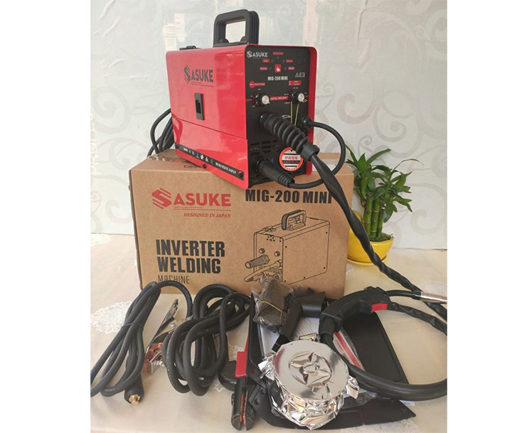 Máy hàn Mig Sasuke Mig-200Mini và nhiều phụ kiện